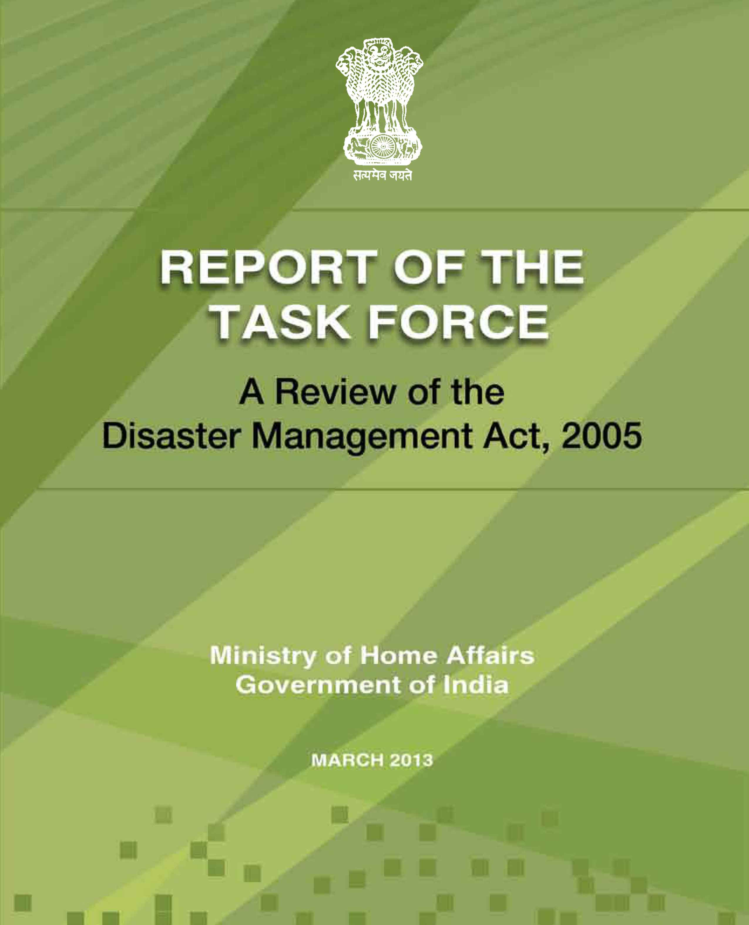 Essay on disaster management in india 2013